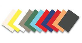 Обложки для переплёта непрозрачные (пластик, картон)