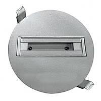 Врезной шинопровод для LED светильника, фото 1