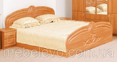 Кровать Антонина 160 2сп 880х1732х2060мм Світ Меблів