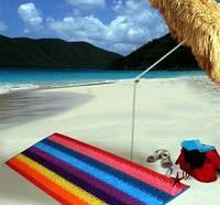 Полотенце махровое пляж Терри Люкс 100х200см Гоа