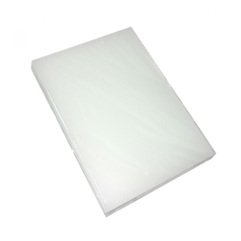 Обложки А4, 400 мк., Satin, бесцветные, 100 шт/упак.