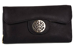 Стильный женский кошелек 7243-1L black TN