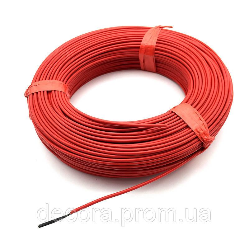 Кабель нагревательный, карбоновый кабель, углеродный кабель греющий 24К 16 Ом KAIZEN TEPLO, Кайзен Тепло KTR16