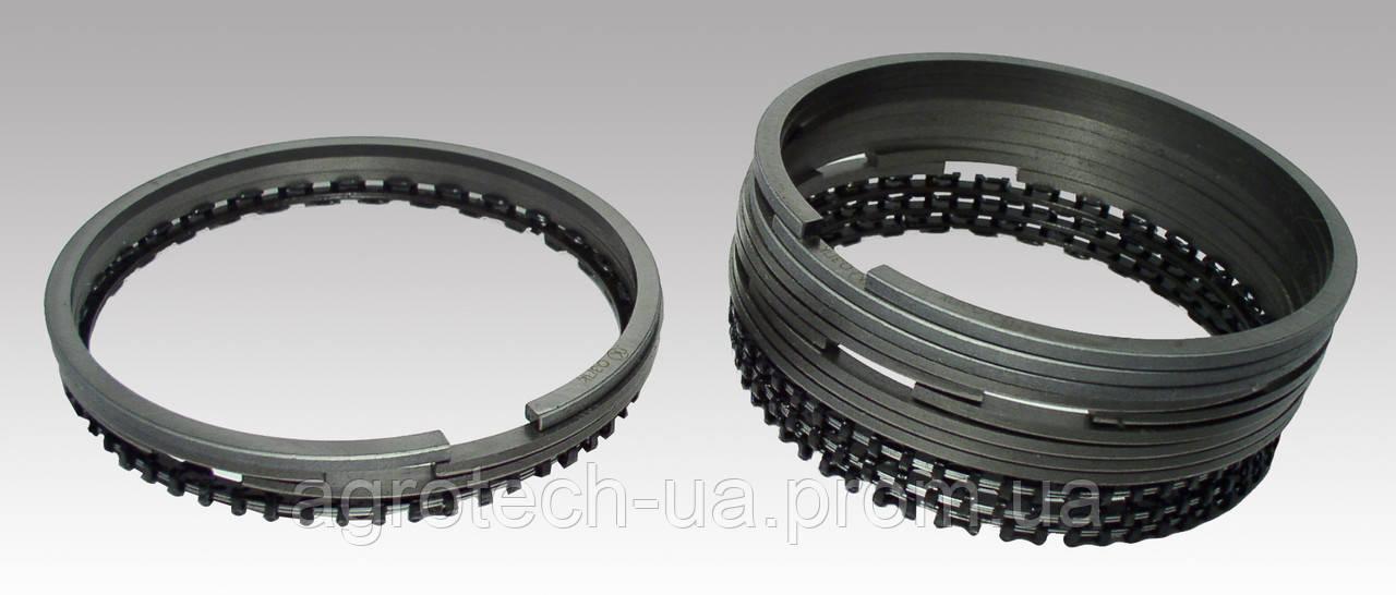 Поршневые кольца к двигателю Д-144 с 3-х элементным стальным маслосъемным кольцом