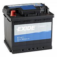 Аккумулятор EXIDE CLASSIC 44Ah-12v (207x175x190) левый +