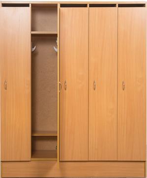 Шкаф 3-х дверный для раздевалки , фото 1