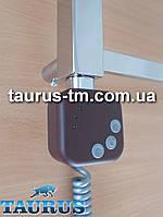 Квадратный коричневый ТЭН HeaterQ с регулятором и таймером (Польша). Мощность от 200Вт.