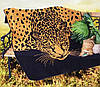 Полотенце махровое 100х150см Индия хлопок Гепард
