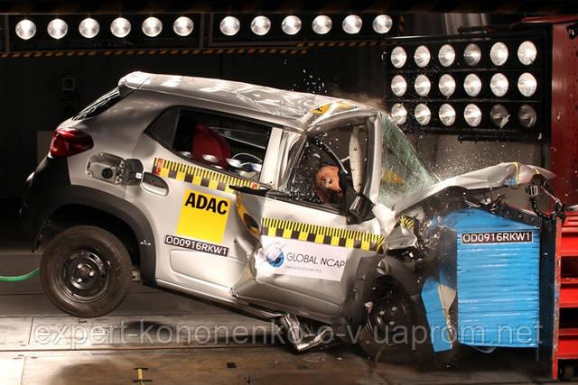 Renault Kwid и другие индийские автомобили провалили краш-тесты Global NCAP