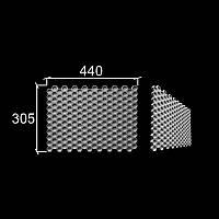 """3-D панели из гипса """"Соты"""""""