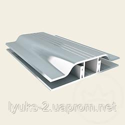 Соединительный профиль алюминиевый серебро АПЗ 4 Украина