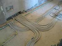 Прокладка электропровода