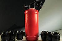Штоф керамический Огнетушитель с рюмками