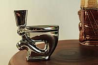 Пепельница керамическая Унитаз