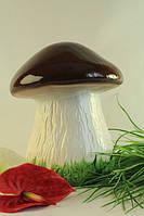 Садовая фигура Большой белый гриб