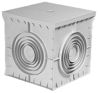 Колодец кабельный типа Small Box пластиковый 400х400х400 с крышкой
