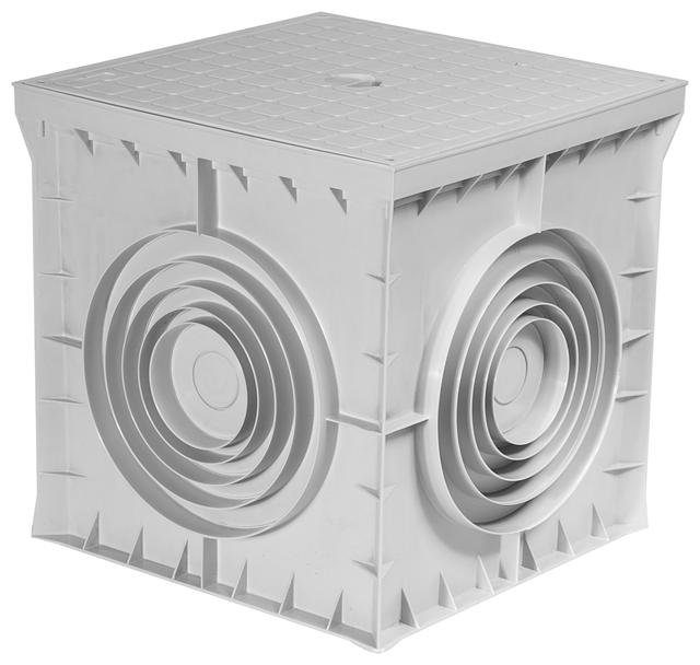 Кабельный полиэтиленовый колодец железобетонная стена размеры