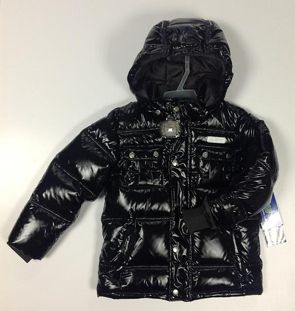 Куртка пуховая зимняя 5879 GWB Black Gusti