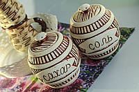 Керамический набор для хранения соли и сахара Бочка