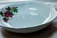 Круглое блюдо, керамика