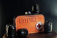 Штоф керамический Аптечка с рюмками
