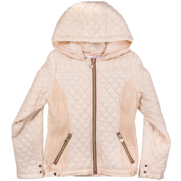 Модная стеганая куртка для девочек