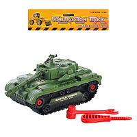 Игрушка танк конструктор 5424 B