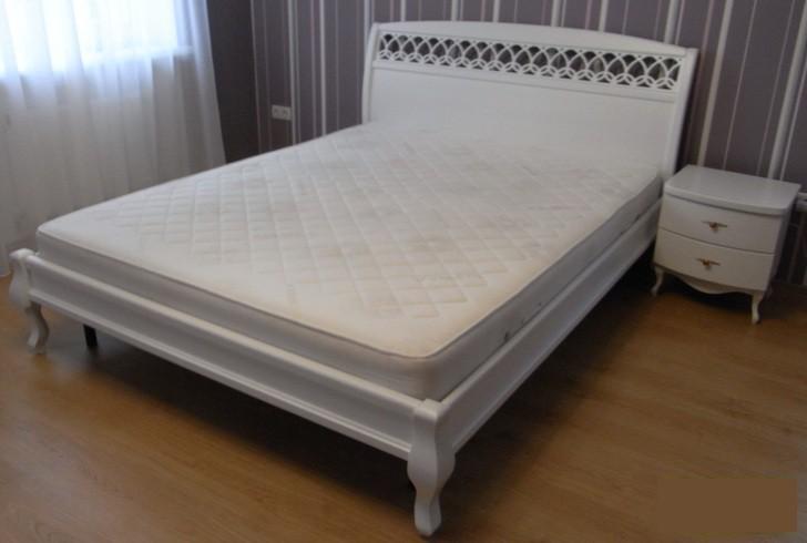 """Кровать двуспальная """"Ариель Декор""""+ламельное основание в каркасе"""