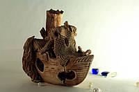Аквариумная фигура Корабль
