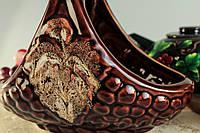 Конфетница глазурь, керамика