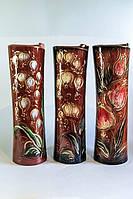 Керамическая ваза Свиток в ассортименте