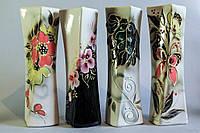 Керамическая ваза Винт в ассортименте