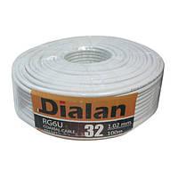 Коаксиальный кабель Dialan RG6U 32W 1.02 мм, 100 м.