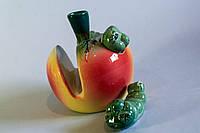 Керамический набор для специй Яблоко с червячками