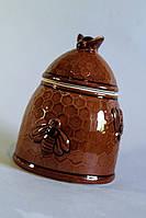 Керамический горшочек  для мёда Пчёлка
