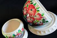 Набор керамических цветочных горшков