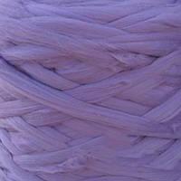 Толстая, крупная пряжа 100% шерсть мериноса. Цвет: Фиалка. 26-29 мкрн. Топс.