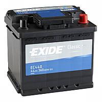 Аккумулятор EXIDE CLASSIC 44Ah-12v (207x175x190) правый +