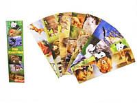 Закладки для книг картонные «Лунапак»  микс, 9 шт.