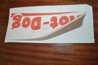 Пакет бумажный 85*210 крафт(хот-дог уголок)