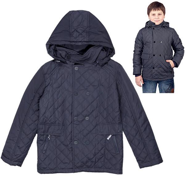 Стильна демісезонна куртка для хлопчика-підлітка