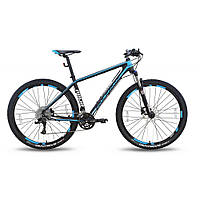 "Велосипед 29'' PRIDE XC-29 PRO 1.0 рама - 19"" черно-синий матовый 2016"