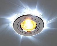 Установка светильника точечного