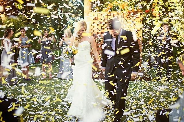 свадебные пневматические хлопушки