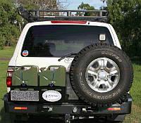 Силовой бампер Kaymar для Toyota LC-105