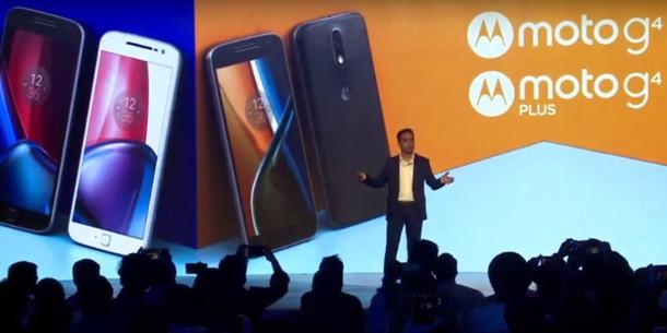 Впервые представлены новые смартфоны четвертого поколения серии Moto G