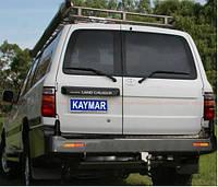 Силовой задний бампер Kaymar для Toyota LC-105