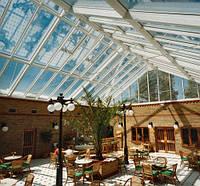 Козырьки, навесы, ограждения Крыша стеклянная