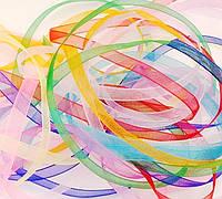 Лента органза_colorMix 10 мм (11 m), фото 1