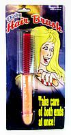 Щетка для  волос - Прикол